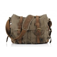army green Across shoulder bags