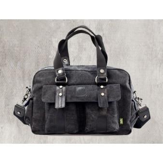 black Unique shoulder bag