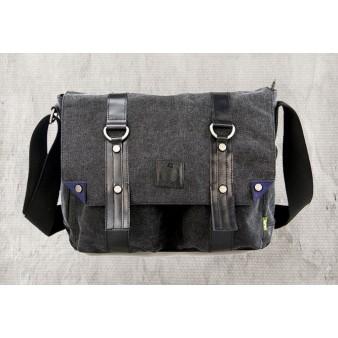 black Travel shoulder bag