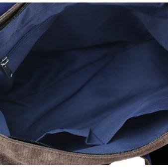 blue Travel shoulder bag