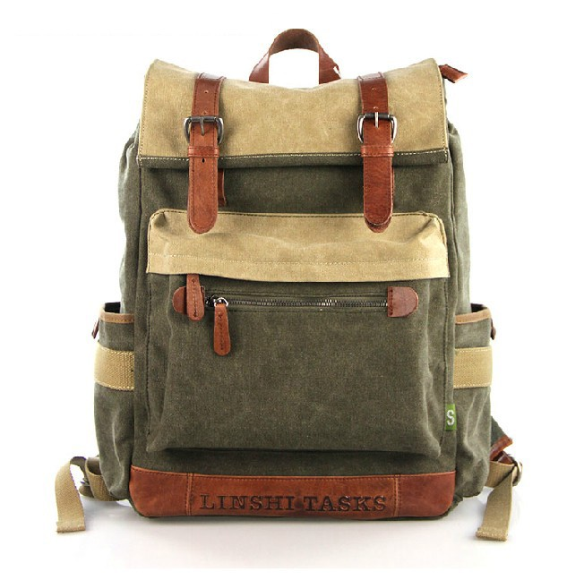 Vintage Laptop Backpack 79