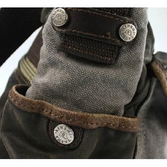 grey shoulder bag mens