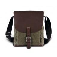 Military canvas messenger bag, messenger bags men