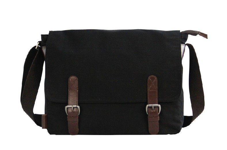 Black Messenger Cross Body Bag