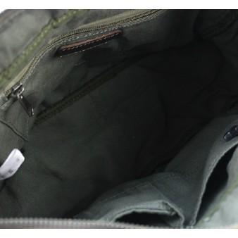 canvas Distressed messenger bag