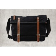 black Fashion messenger bag