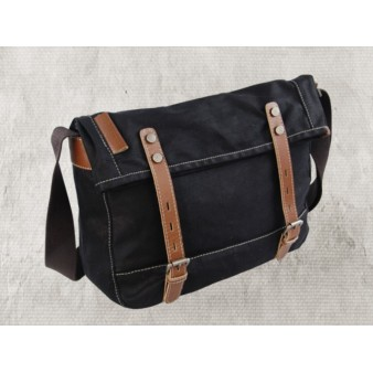 black european shoulder bag for men