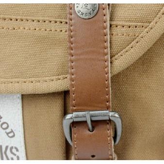 yellow fabric shoulder bag