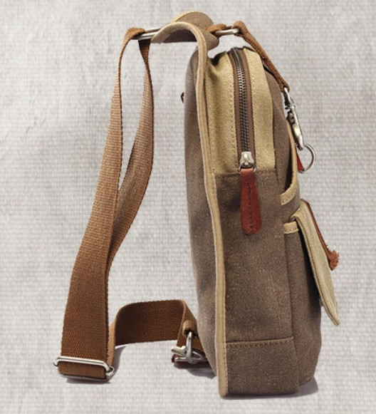 Backpack shoulder bag, mens sling backpack - UnusualBag