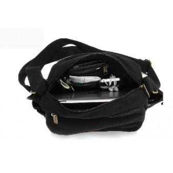 black canvas satchel bags