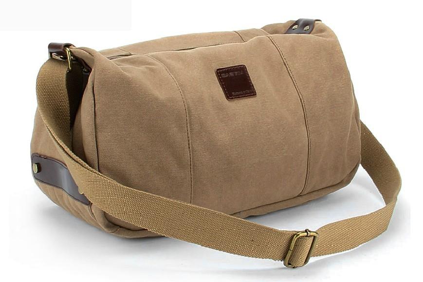 Canvas Messenger Bags For School Shoulder Bag