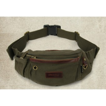 army green Fanny pack for men