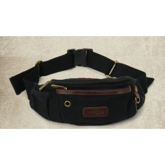 black Fanny pack for men