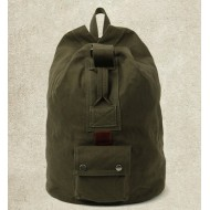 Cotton canvas backpack, classic canvas rucksack