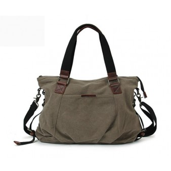 Canvas messenger bag, shoulder handbags