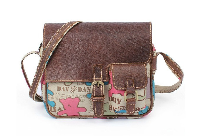Cute messenger bags school  over the shoulder bag ... 3c4e43af06174