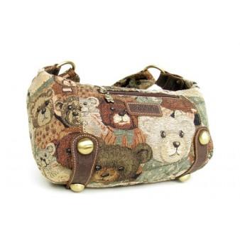 khaki Girl messenger bag