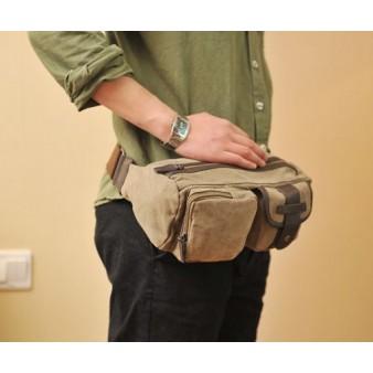 khaki Awesome fanny pack