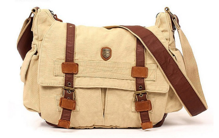 Cross shoulder bags women, canvas shoulder messenger bag - UnusualBag
