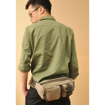 canvas bicycle fanny pack