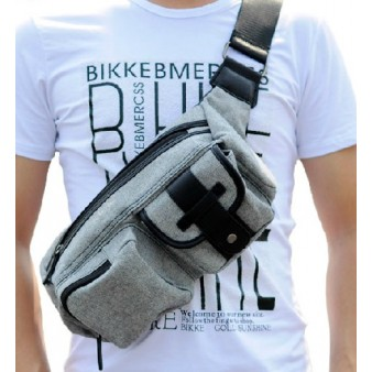 grey Awesome fanny pack