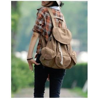 khaki sport backpack