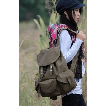 army green sport backpack