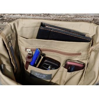 Stylish backpack grey