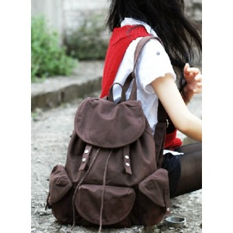coffee Stylish backpack for women
