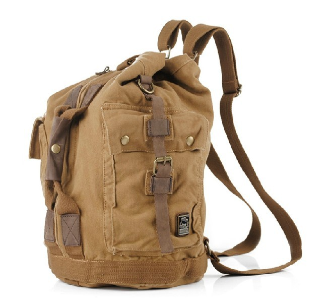 7e07f1198 Vintage canvas backpack, backpacks with straps - UnusualBag