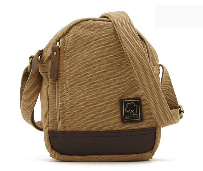 0335bec6dd Canvas messenger bag for men  mens small ...