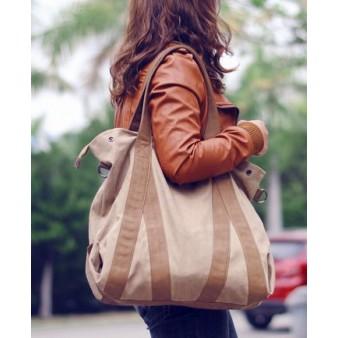 khaki hobo messenger bag