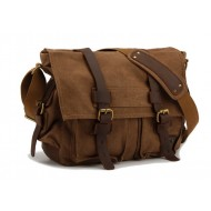 coffee Canvas shoulder bags