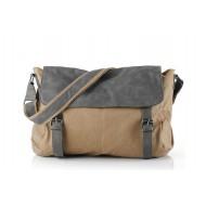 Canvas messenger bags for men, satchel canvas