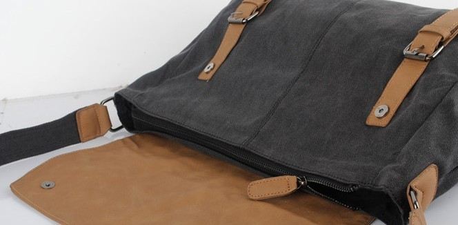 Canvas messenger bags for men, satchel canvas - UnusualBag