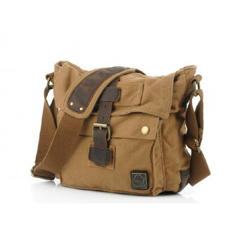 khaki Ipad over the shoulder bag