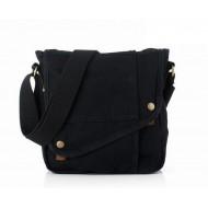 black Ipad shoulder bag