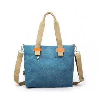 blue latest handbag