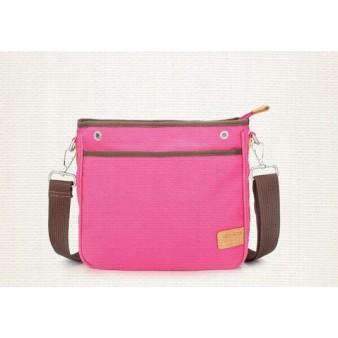 Canvas satchel bags rose