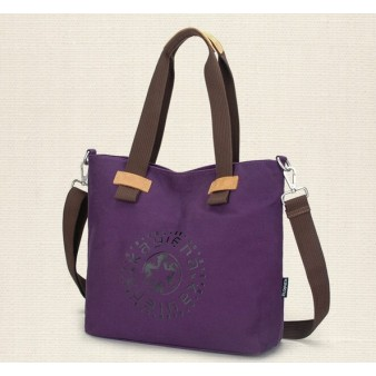 purple latest handbag