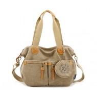khaki Messenger bags for women
