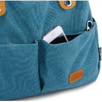 blue Messengers bag