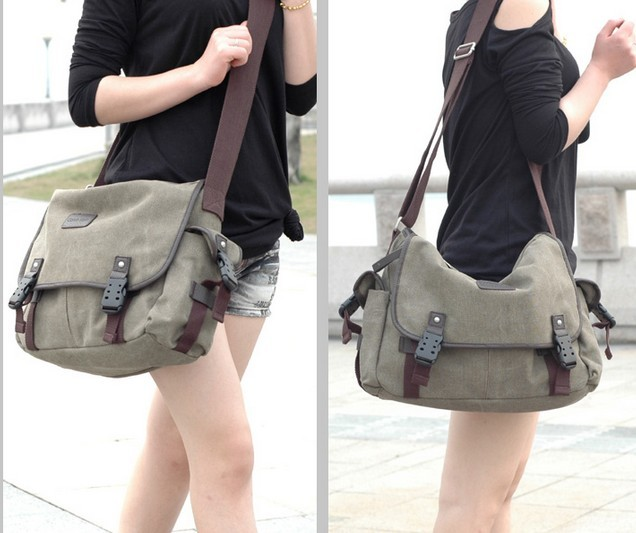 Mens messenger bag  shoulder bag for men  Mens messenger bag army green ...