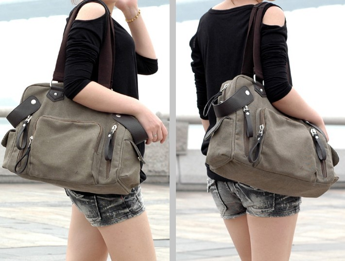Best messenger bag, canvas satchel book bag - UnusualBag
