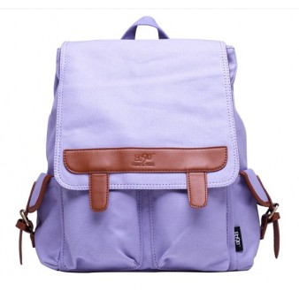 purple Backpack for laptop