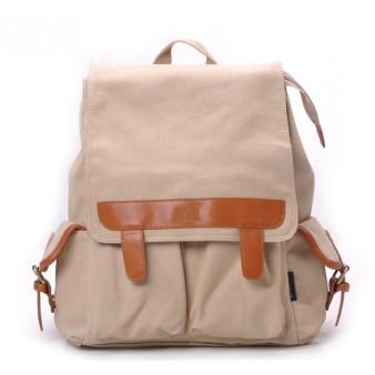 khaki Backpack for laptop