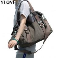 Ladies canvas satchel bag