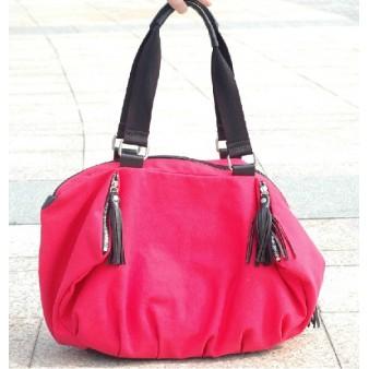 rose across shoulder bag