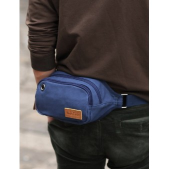blue discount fanny pack