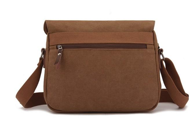 fc7fc01fc44928 Canvas messenger bag for men, ipad over the shoulder book bag ...